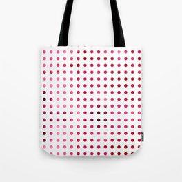 Polka Dot-Red Tote Bag