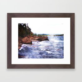 Upper Peninsula Landscape Framed Art Print