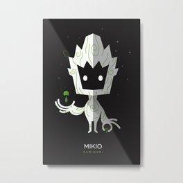 Mikio 2.0 Metal Print