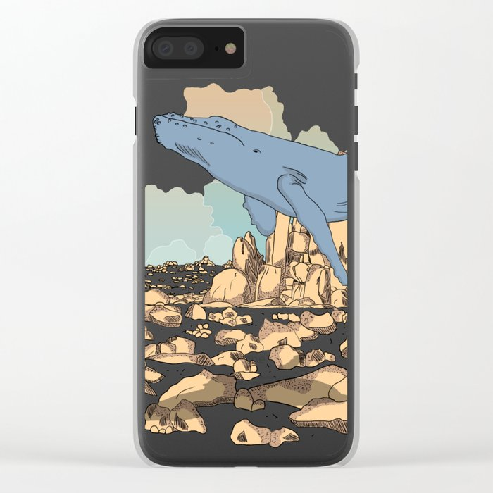 After Death Clear iPhone Case