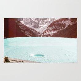 infinity pool Rug
