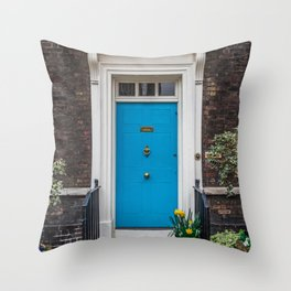 Warders' Door at Tower of London England Throw Pillow