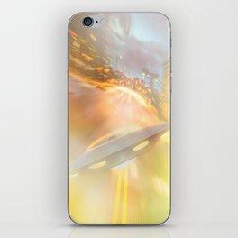 Downtown UFO iPhone Skin