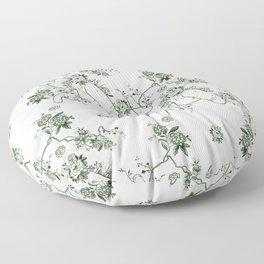 Penis Pattern GREEN Floor Pillow