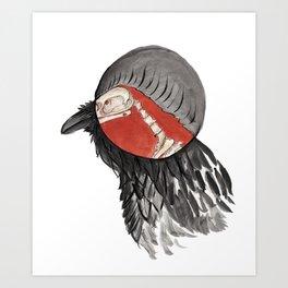 X-Raven Art Print