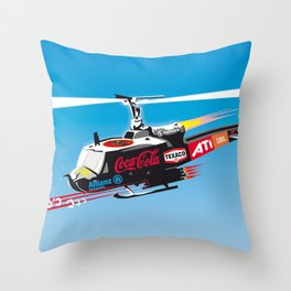 popwarII Throw Pillow