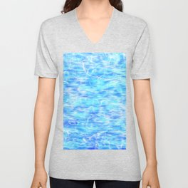 Abstract Water Sea Ocean Background wallpapers / GFTWater002 Unisex V-Neck
