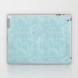 Cave Drawings - Aqua Laptop & iPad Skin