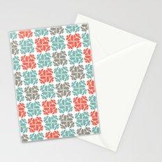 Block Print Geo Stationery Cards