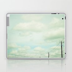 clouds and lines Laptop & iPad Skin