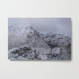 Above the mountains Metal Print