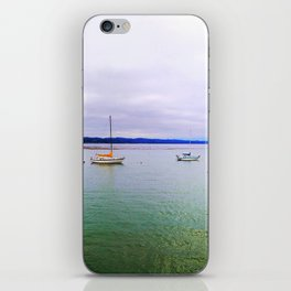 Boats in Capitola iPhone Skin