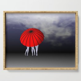 umbrella time -22- Serving Tray