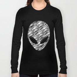 Alien Troops - Black & White Long Sleeve T-shirt