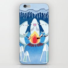 A Shiver of Sharks iPhone & iPod Skin