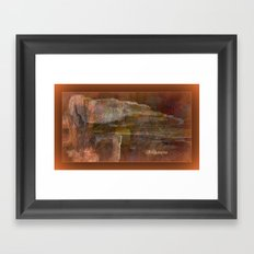 The Tomb Of The Ancient kings by Sherri Of Palm Springs Framed Art Print