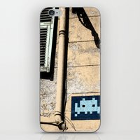 invader zim iPhone & iPod Skins featuring Invader by theGalary