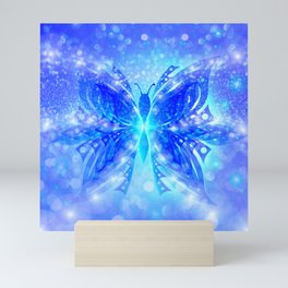Butterfly Abstract G539 Mini Art Print