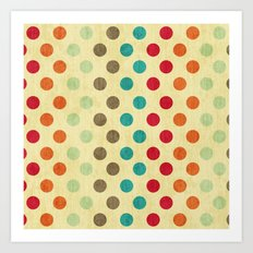 Shabby Sweets  Art Print