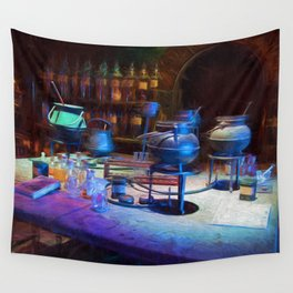 Potions Class Wall Tapestry