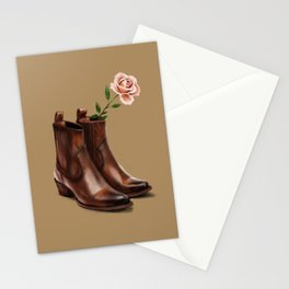 These Boots Stationery Cards