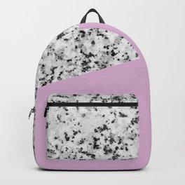 Granite with Pink Lavender Color Backpack