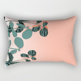 Later Days - indoor house plant ombre pink palm springs desert socal los angeles urban hipster retro Rectangular Pillow