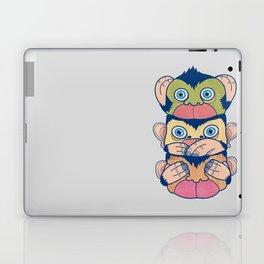 Hear no evil, Speak no evil, See no evil Laptop & iPad Skin