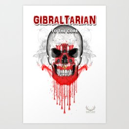 To The Core Collection: Gibraltar Art Print