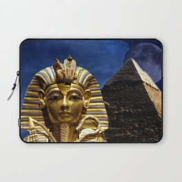King Tut and Pyramid Laptop Sleeve