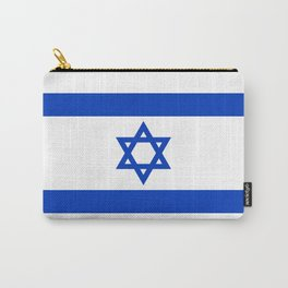 Israel Flag - High Quality image Carry-All Pouch