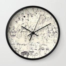 Train Journeys  Wall Clock