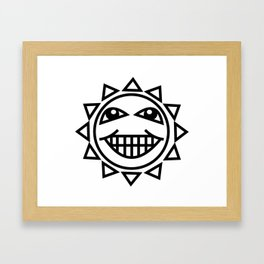 HappySun Framed Art Print