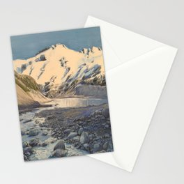 Aoraki (Mt. Cook), New Zealand Stationery Cards