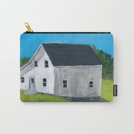 White Farmhouse. Carry-All Pouch