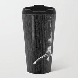Fountain Divers B&W Travel Mug