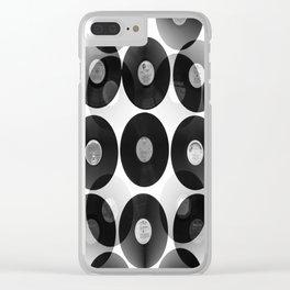 Something Nostalgic II - Black And White #decor #buyart #society6 Clear iPhone Case