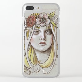 Yavanna the Queen of Earth Clear iPhone Case