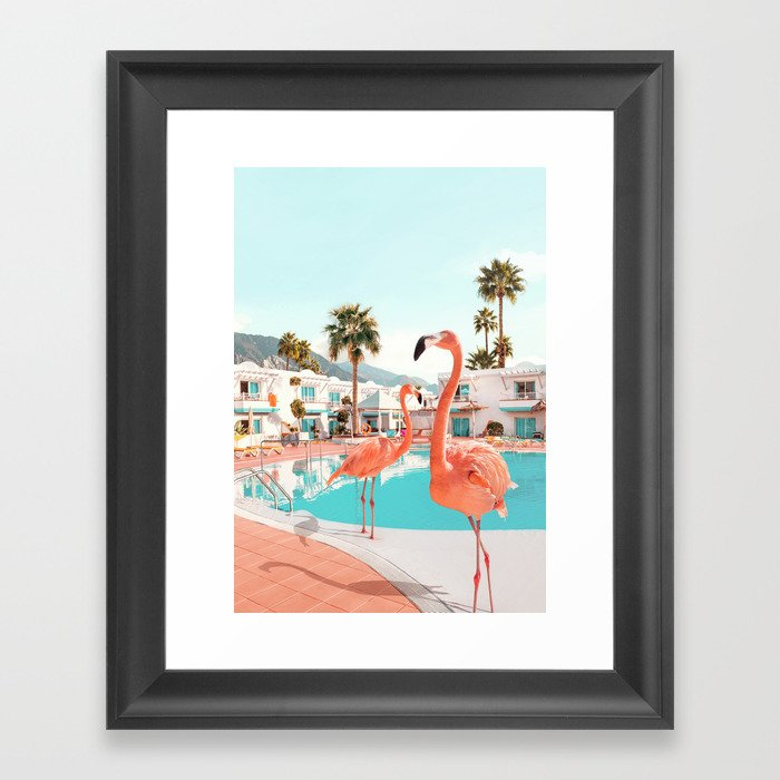 Florida Gerahmter Kunstdruck