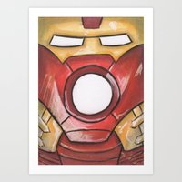 Iron Garb Art Print