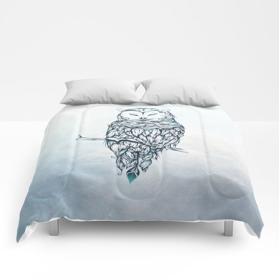 Snow Owl Comforters