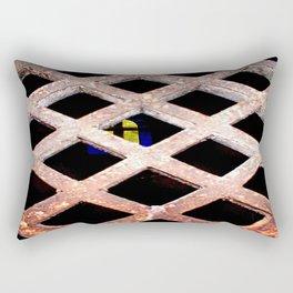 Through the Grate Rectangular Pillow