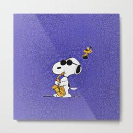 Snoopy Metal Print