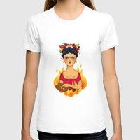 frida T-shirts featuring Frida by La Perera