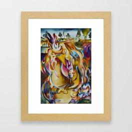 Abstract 5 Framed Art Print