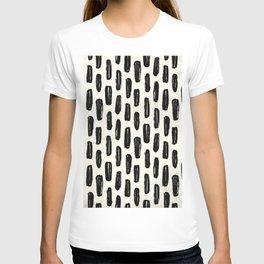 Ivory Vertical Dash T-shirt