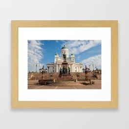 Helsinki 7 Framed Art Print