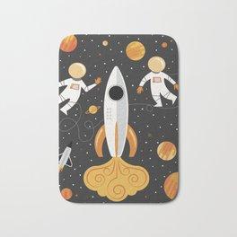 Astronauts in Space Bath Mat