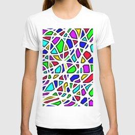 color face T-shirt