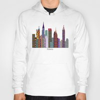 atlanta Hoodies featuring Atlanta city  by bri.buckley